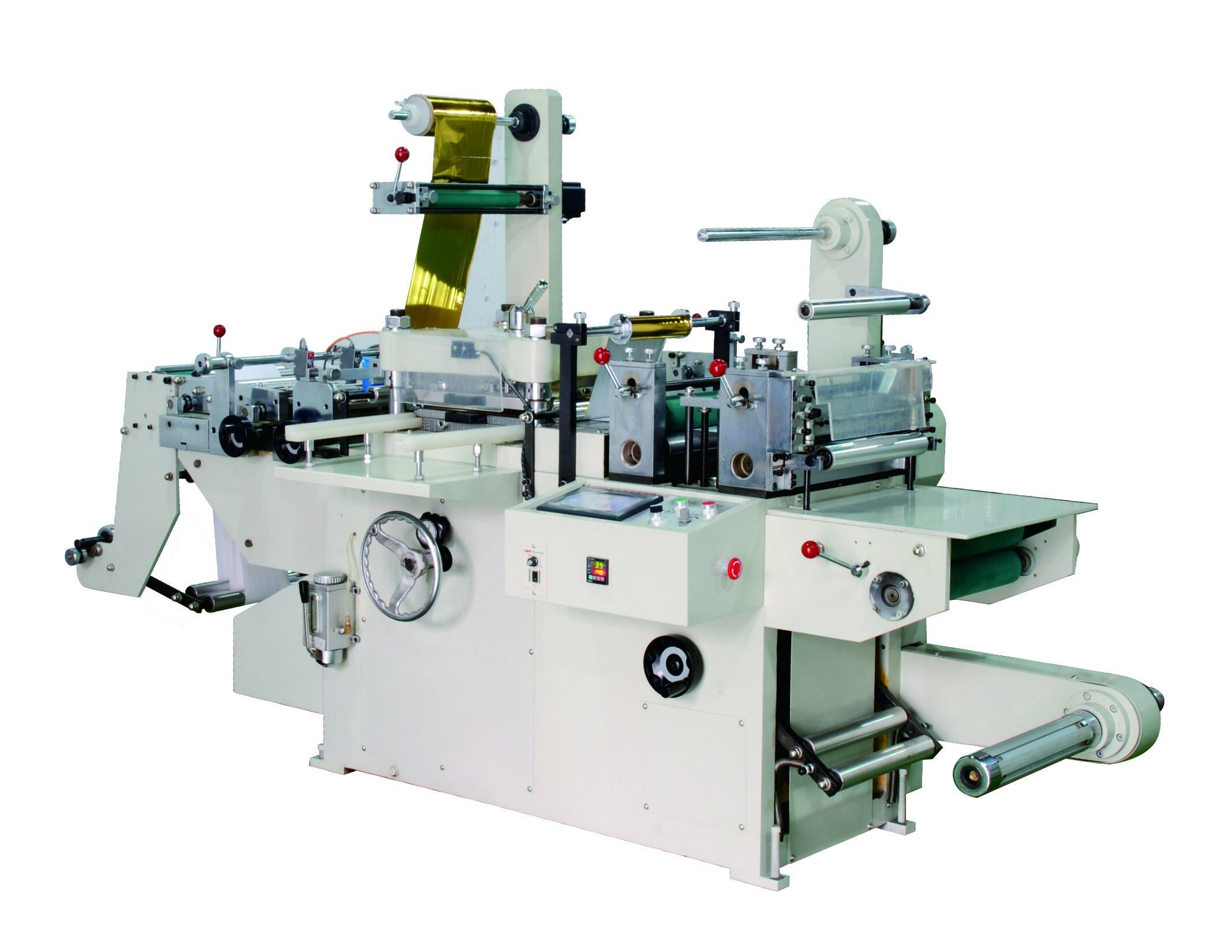 Flatbed Die-Cutting Machine with Hot Stamping