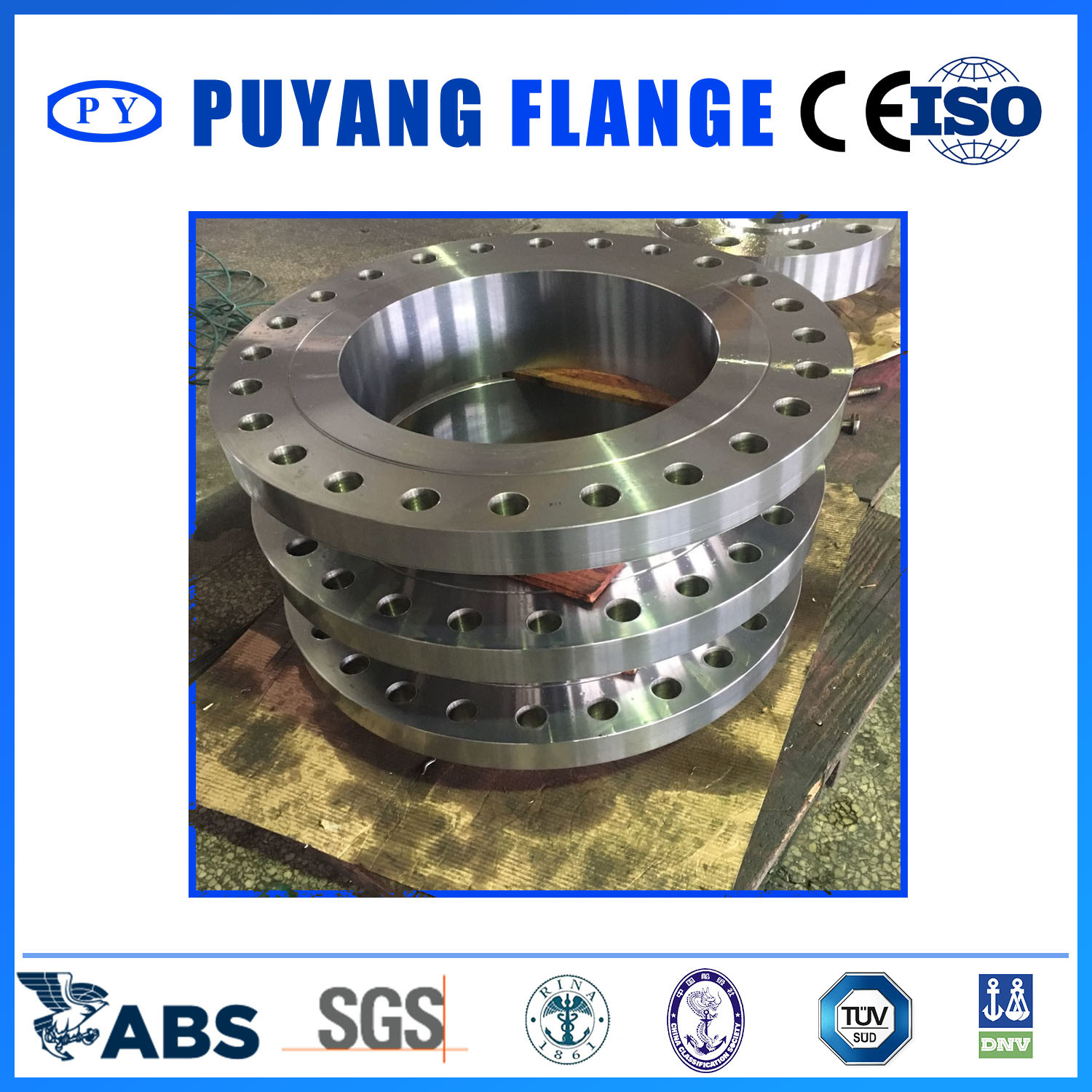 ANSI Forged Alloy Steel Weld Neck Falnge F11