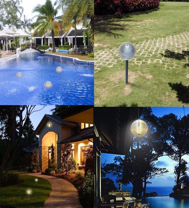 New Design All-in-One Solar Light for Garden or Lawn Lighting IP 68