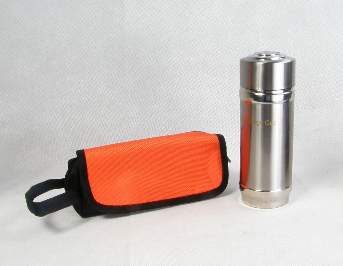 Nanometer Energy Cup Orp Drinking Water Bottle Ionizer Vacuum Flask Stainless Steel Cup