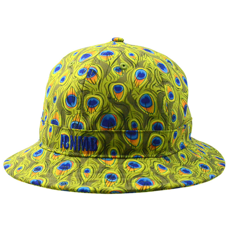 Promotional Gift Custom Cap Floral Polyester Bucket Hat Fishing Cap