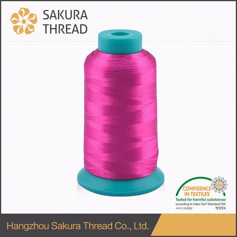 Eco-Friendly 100% 150d Viscose Monofilament Embroidery Thread