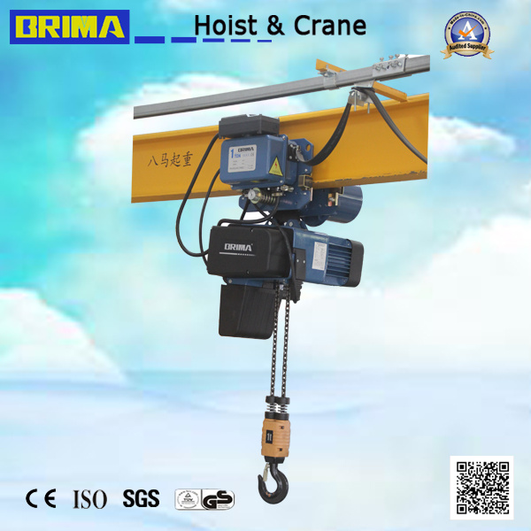1t Brima High Reputation European Type Electric Chain Hoist