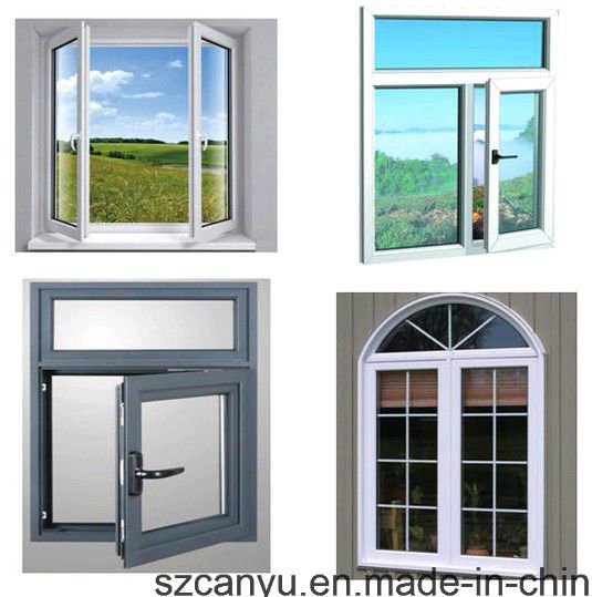 Aluminum Casement Window with Double Glass As2047 and As2208