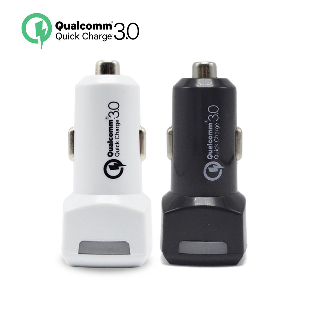Manufacturers Wholesale QC3.0 Car Charger 2 Port Car Charger