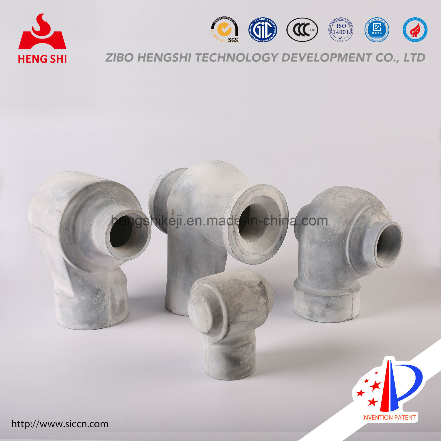 Silicon Nitride Bonded Silicon Carbide Nozzle Used for Desulfuration and Denitration in Environment Protection Industry