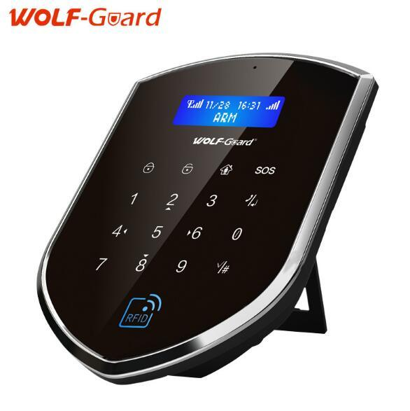 2017 WiFi Smart Home Security Wireless GSM Alarm System with Ios/Android APP Control
