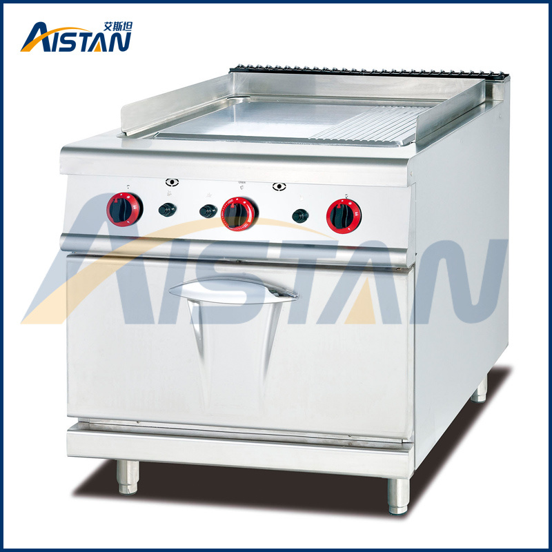 Gh986A Gas Griddle with Gas Oven (1/3 Grooved) of Hotel Equipment