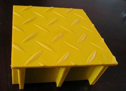 FRP Molded Grating with Patterned Cover/Trench Cover/Gully Cover
