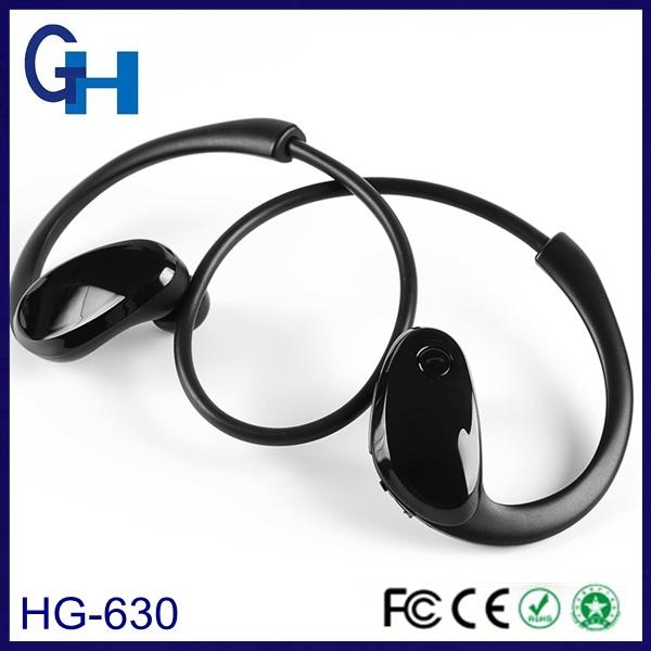 Promotion Wireless Dual Track Gymsense Bluetooth Earphone Headphone with Mic
