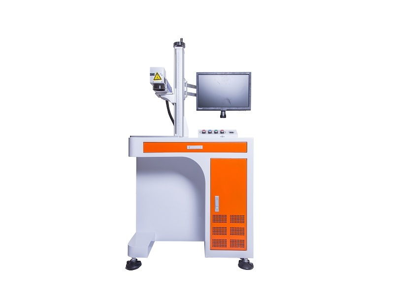20W 30W 50W Hardware Fiber Laser Marking Machine
