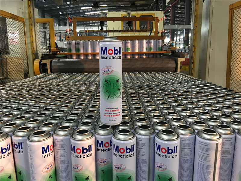 Empty Aerosol Can for Insecticide