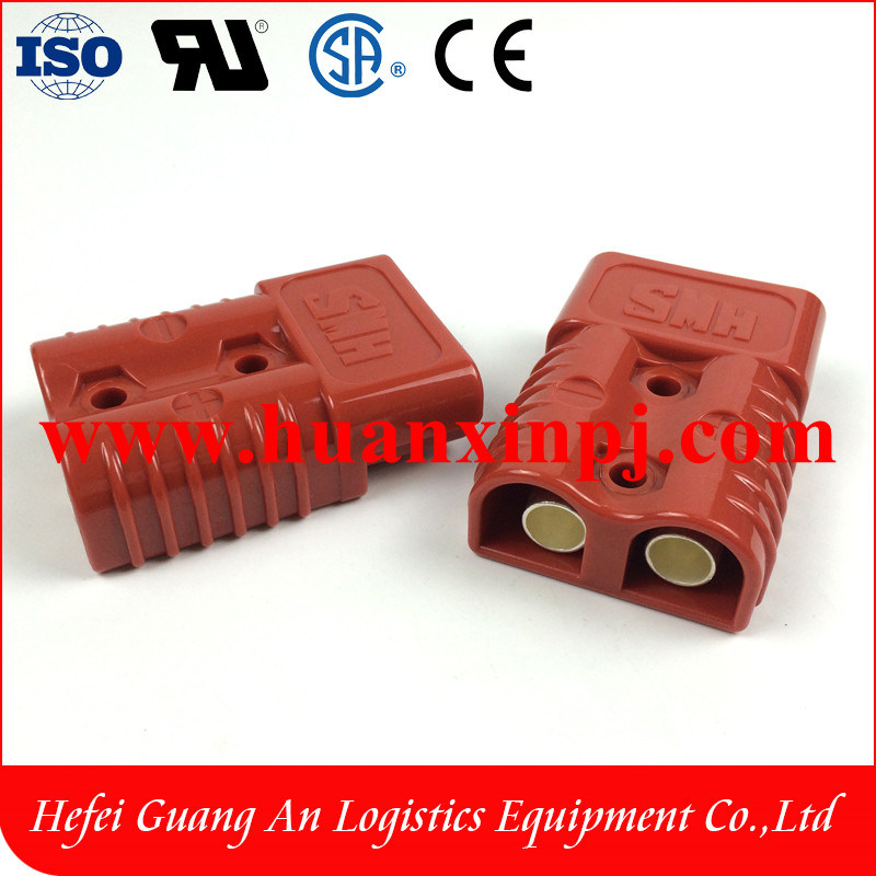 Smh175A Forklift Battery Connector Red Color