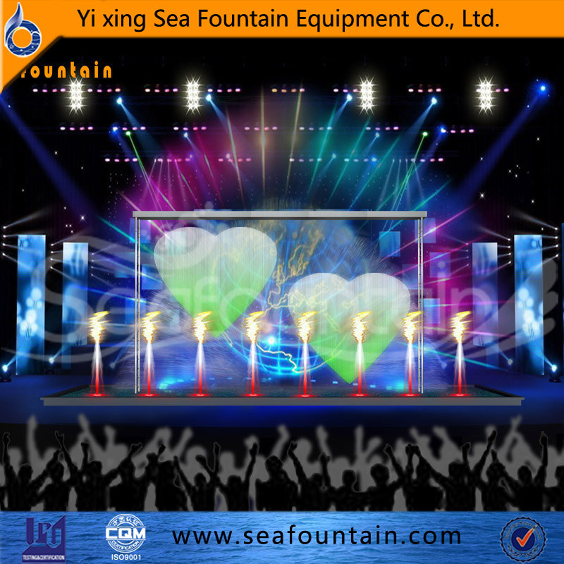 Outdoor Water Pool Water Screen Movie Multimedia Music Fountain