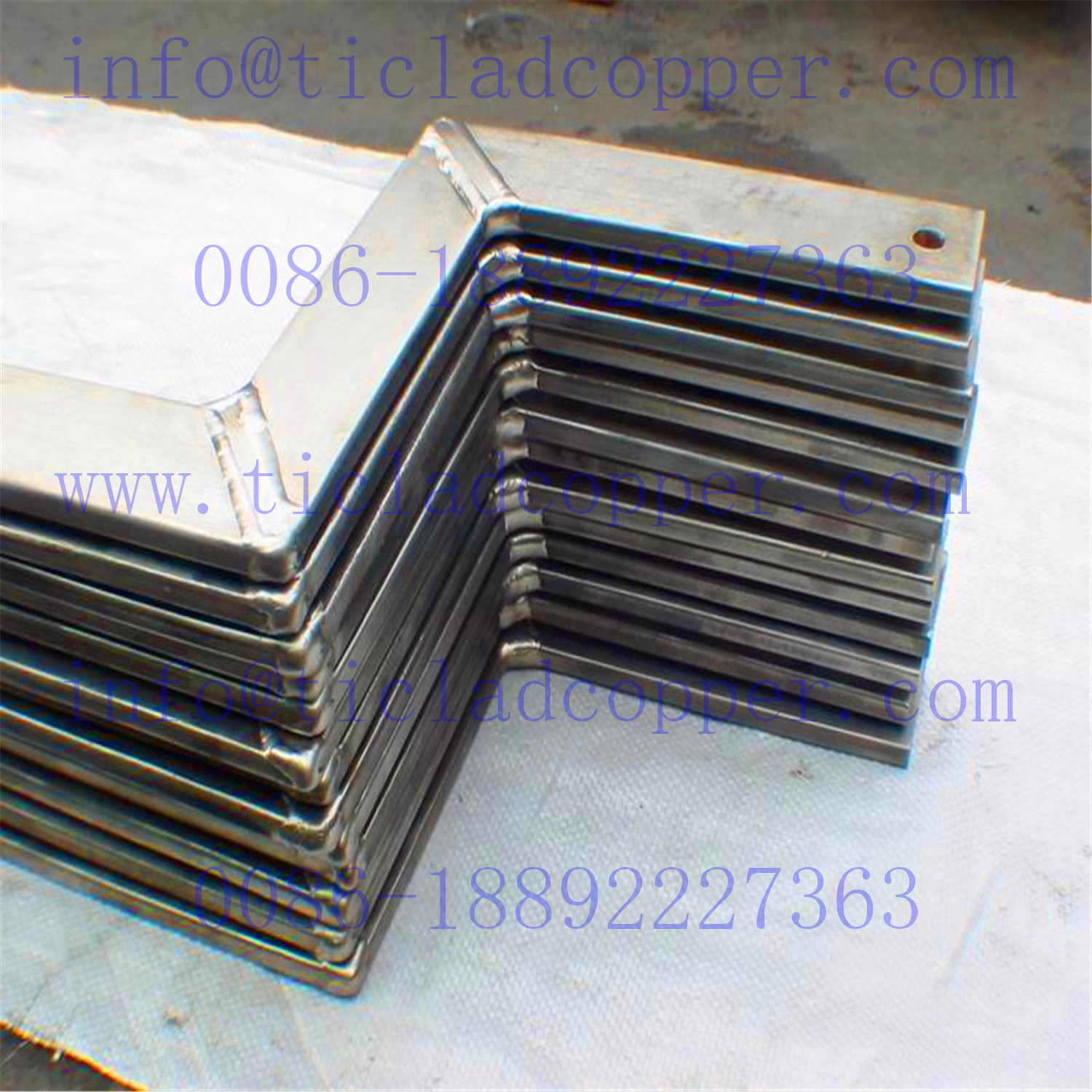 Titanium Clad Copper Welded Assembly Rod for Continuous Coating Lines