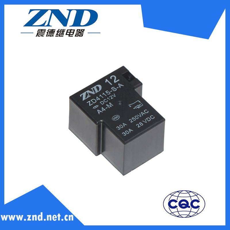 Zd4115 (T90) Power Relay for Household Appliances &Industrial Use 30A Contact Switch