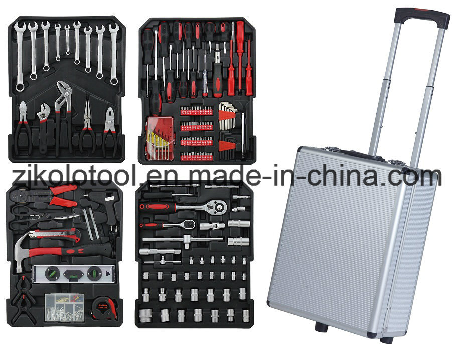 186PCS High Quality Portable Germany Design Hand Tool Kit, Herramientas De Autos, Mechanical Tools Names