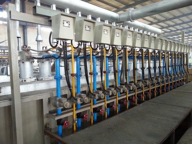 Supply Steel Wire Zn-Al Galfan Galvanizing Machine