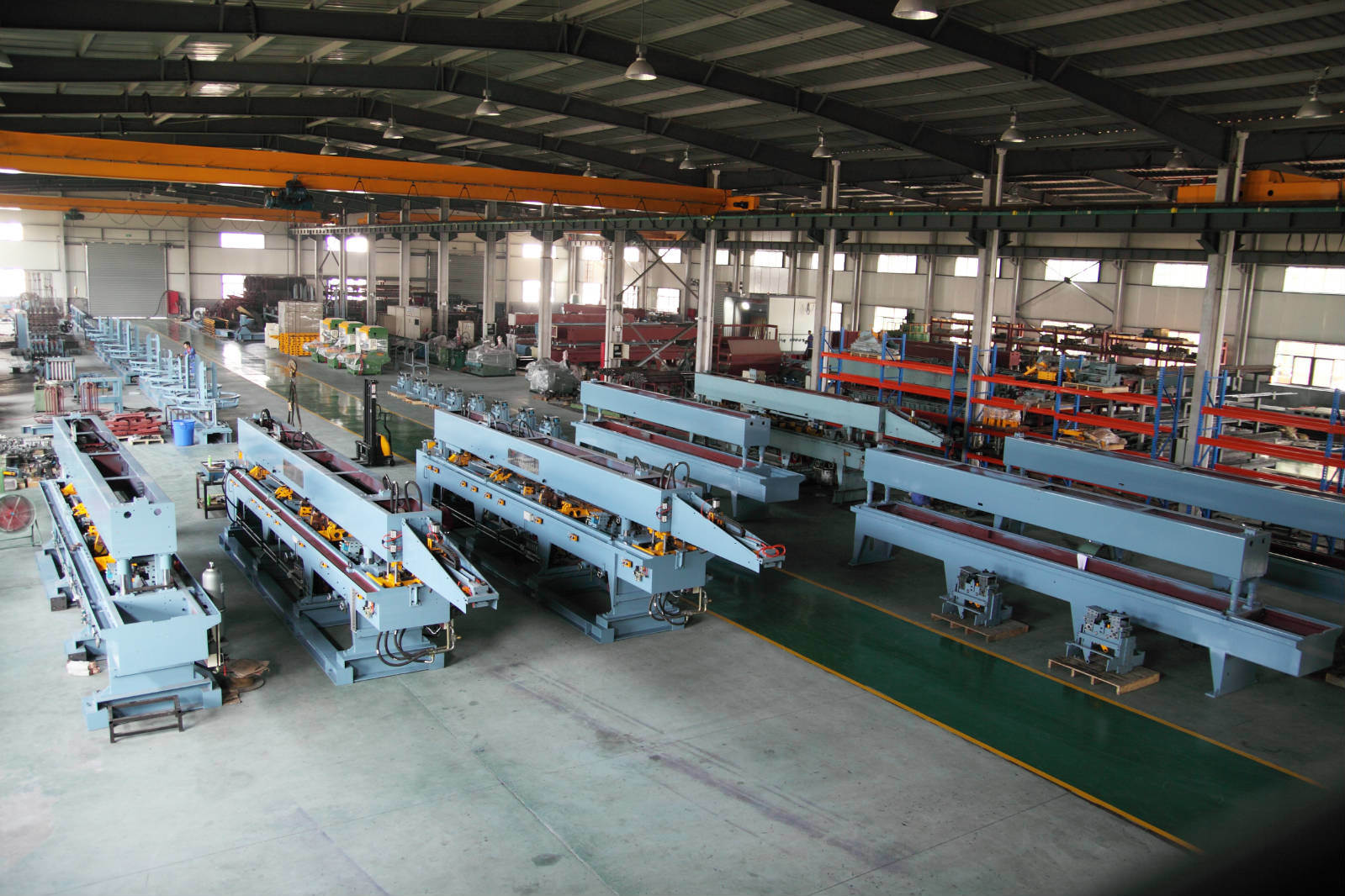 Steel Bar Lattice Girder Welding Line