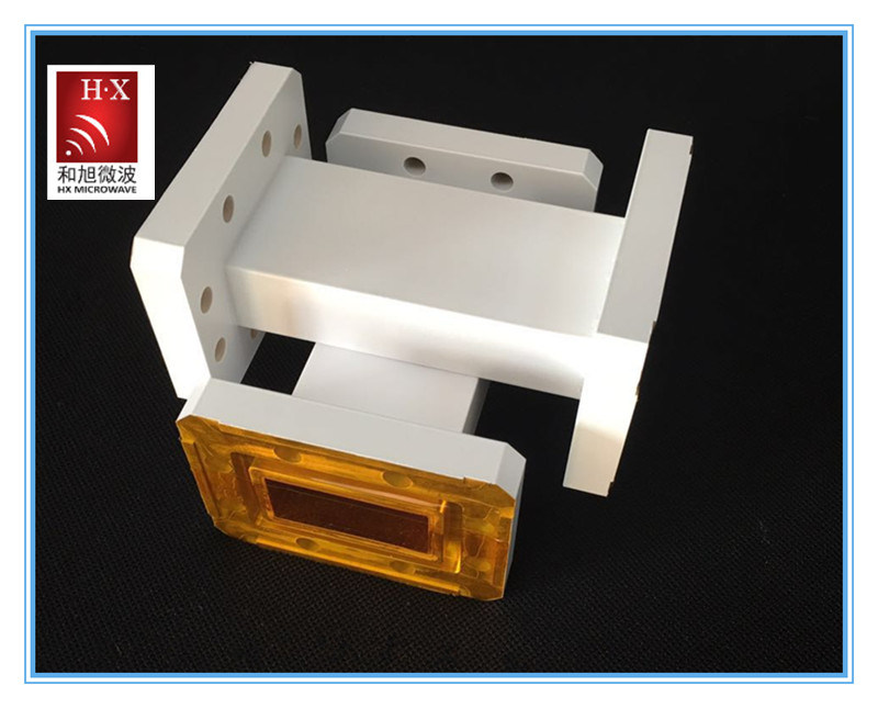 Wr284 Straight Rigid Waveguide From Hexu Microwave