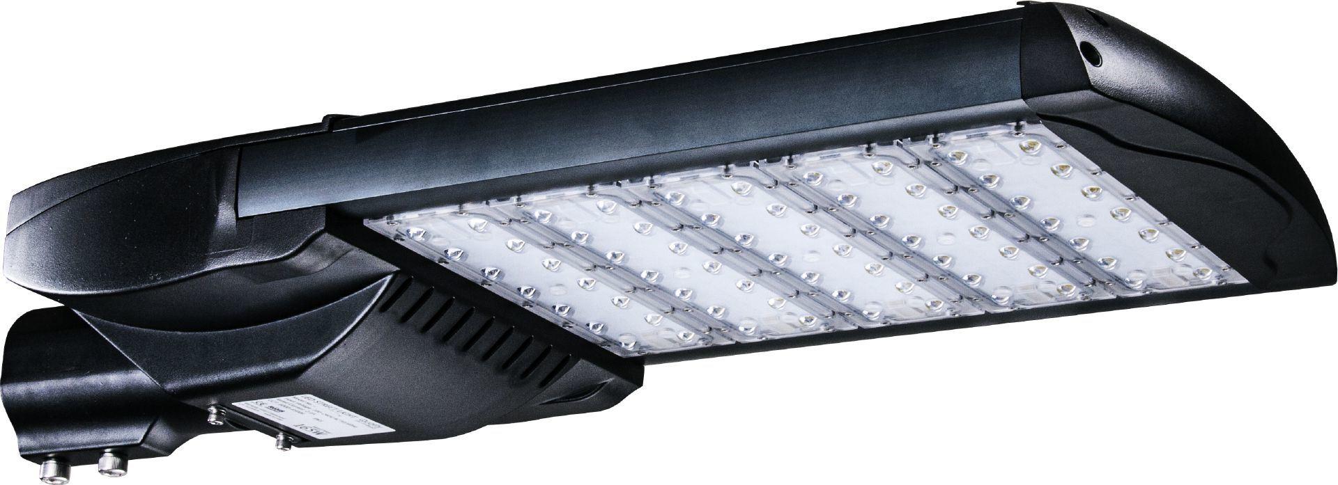 UL Dlc LED Street Cobra Lamp for Area Lighting with Optical Sensor and Surge Protector