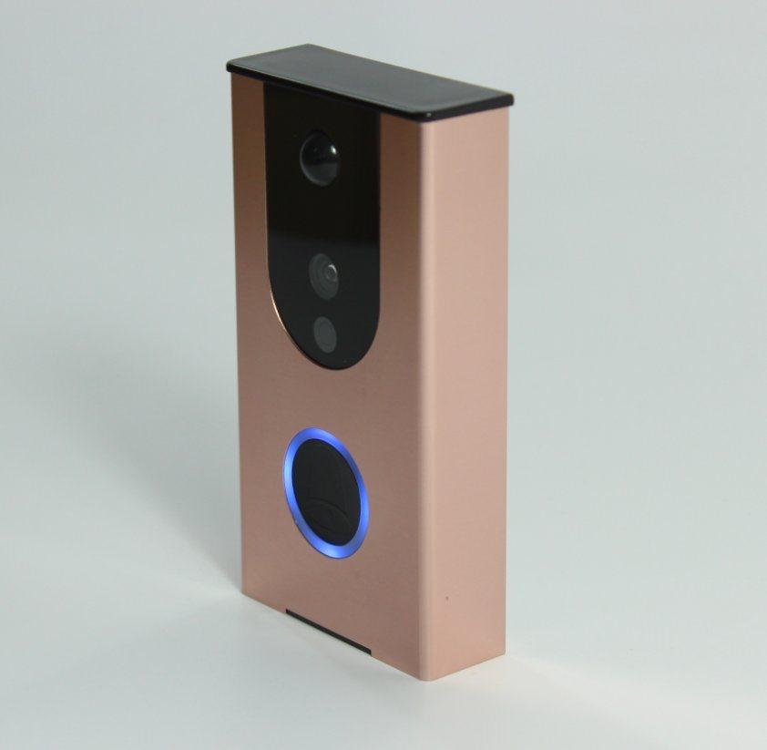 Wireless Door Intercom with Camera Waterproof Video Doorbell