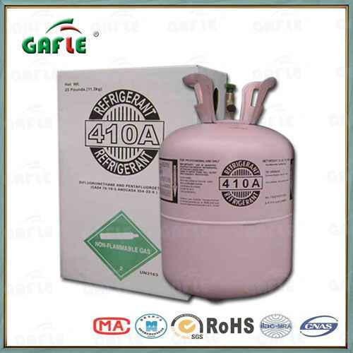 Gafle/OEM Refrigerant Gas Hot Sale High Purity R410A Gas Cheap Price