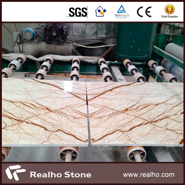 Polished Red/White/Gold/Green/Black/Yellow Marble Tile for Wall and Flooring