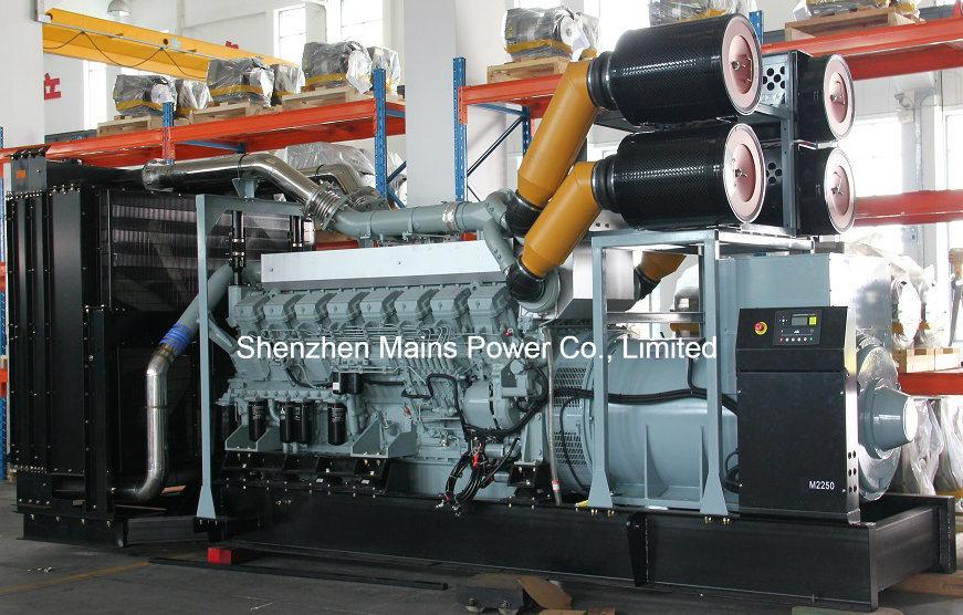 1200kw 1500kVA Mitsubishi Diesel Generator Standby 1320kw 1650kVA