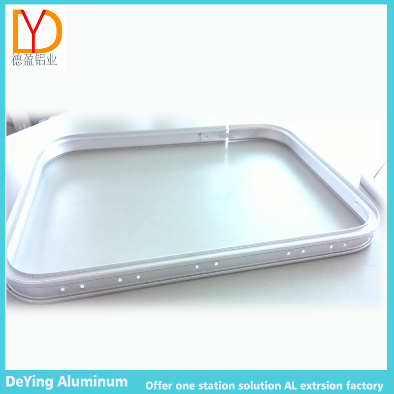 Aluminum Extrusion Profile Frame with Bending Anodizing for Trolley Case