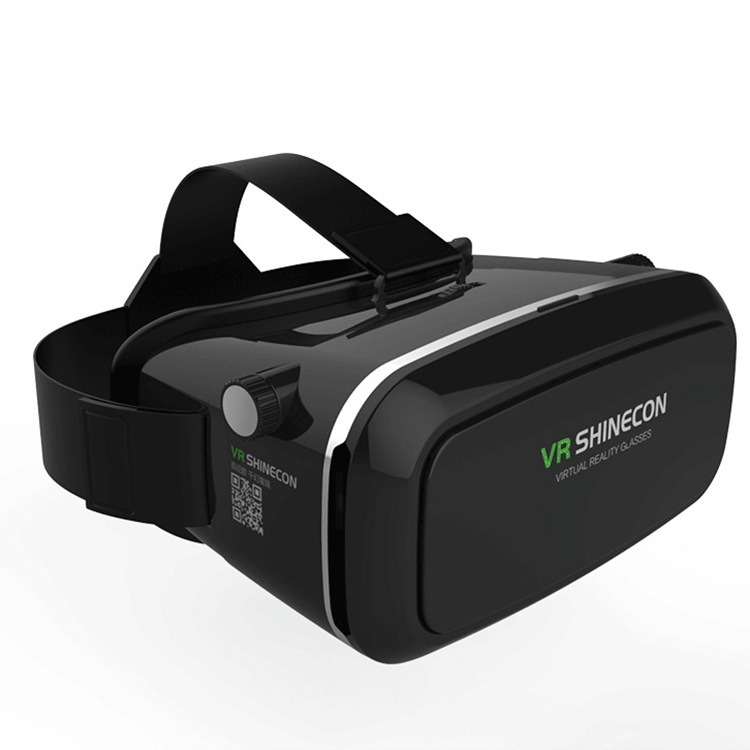 3D Vr Glasses, 3D Virtual Reality Headset Adjust Cardboard Video Movie Game Box for iPhone 6s/6 Plus/6/5s/5c/5 Samsung Smart Phone