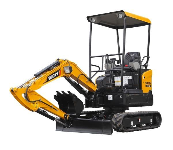 Sany Sy16c Mini Excavator Lower Fuel Mini Escavadeira 1.75ton Mini Excavator Prices