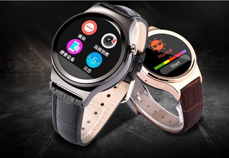 Bluetooth Smart Watch with Heart Rate UV Detection Wristwatch SIM TF Card Smartwatch