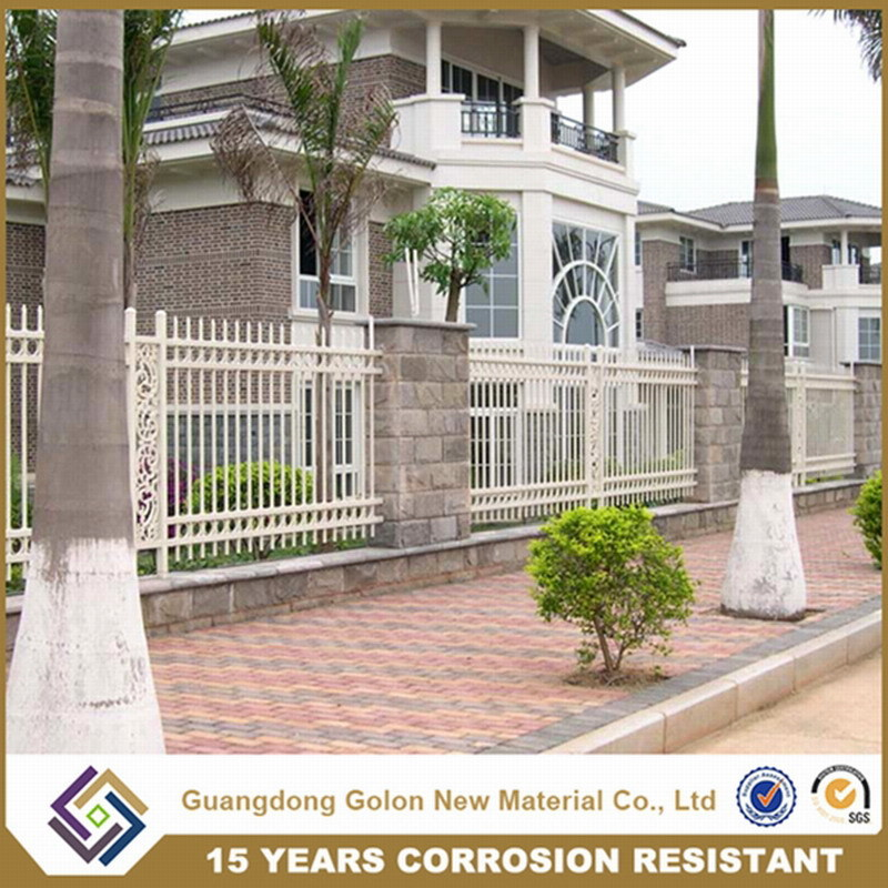 Garden or Yard Decor Wrought Iron Fence Panels for Sale