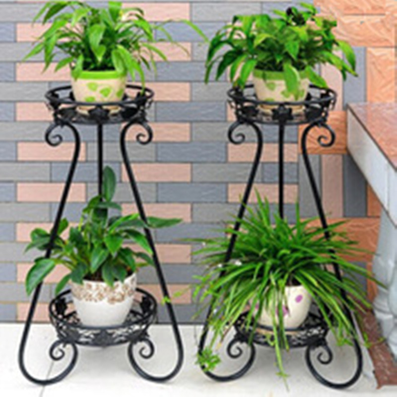 Flower Stand Designs : China new design garden wrought iron flower stand