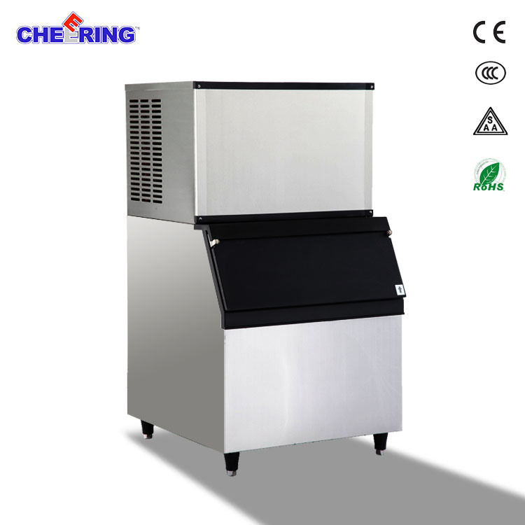 150kg Sufficient Commercial Cube Ice Machine Maker Manufacturer Ce