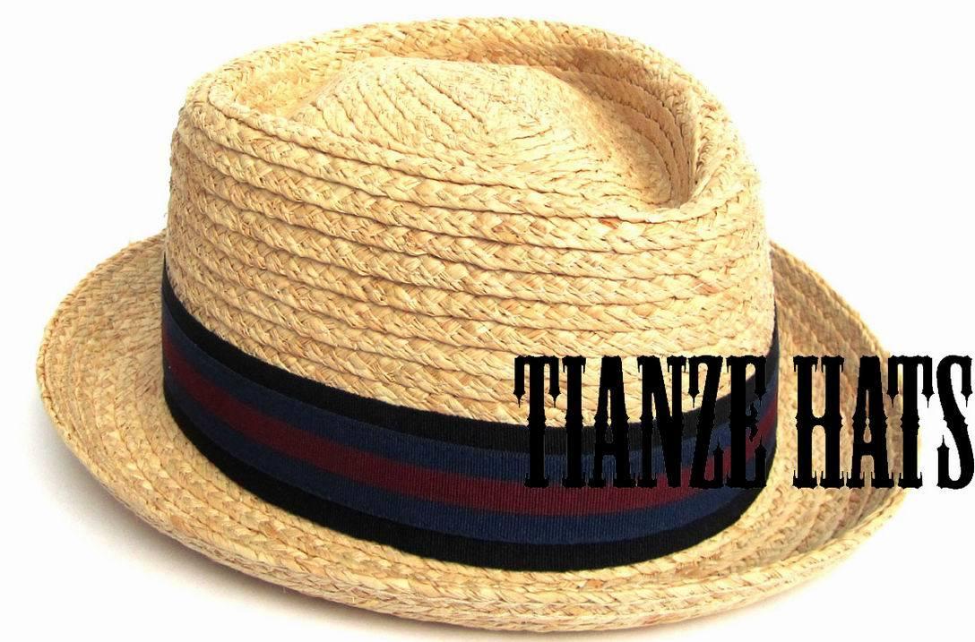 Raffia Straw Braid Hat