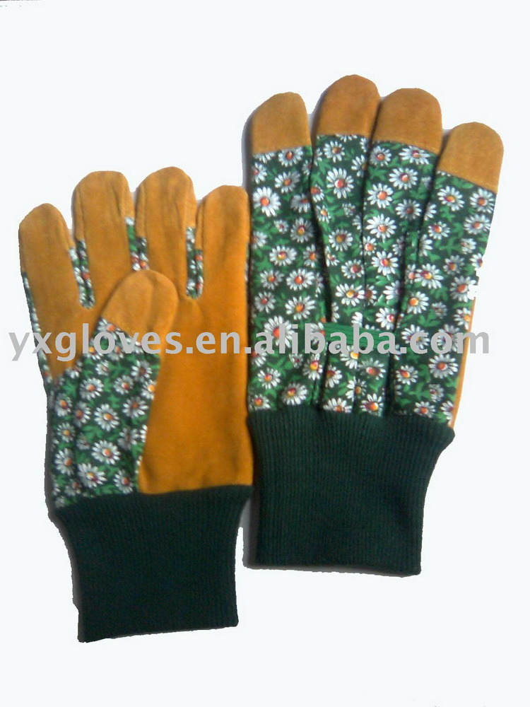 Work Glove-Garden Glove-Cheap Glove-Hand Glove-Safety Glove-Gloves-Leather Glove