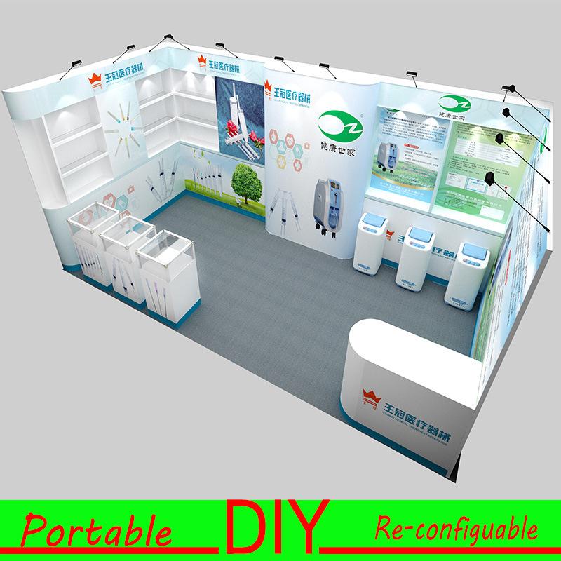 Design Custom DIY Portable Modular Creating Stunning Exhibition Display
