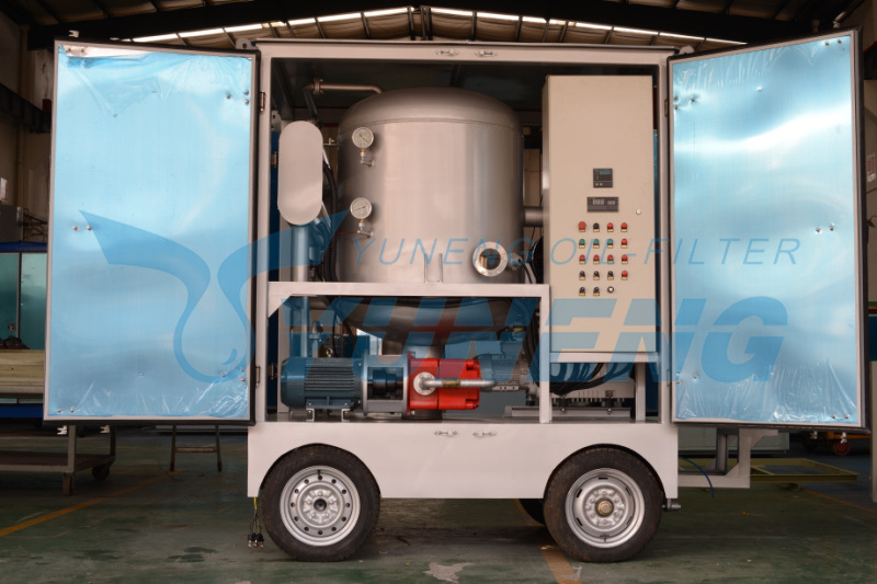 Transformer Oil Filtration Plant Mobile Zja Series