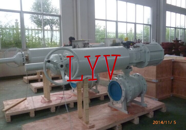 Precise Casting Top Entry Soft Sealing Trunion Ball Valve