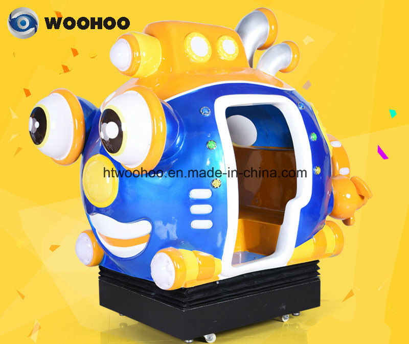 Outdoor Playground Submarine Wobbler Swing Wag Machine