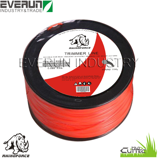 RHINOFORCE 3lb Filament Grass Cutting Nylon Trimmer Line