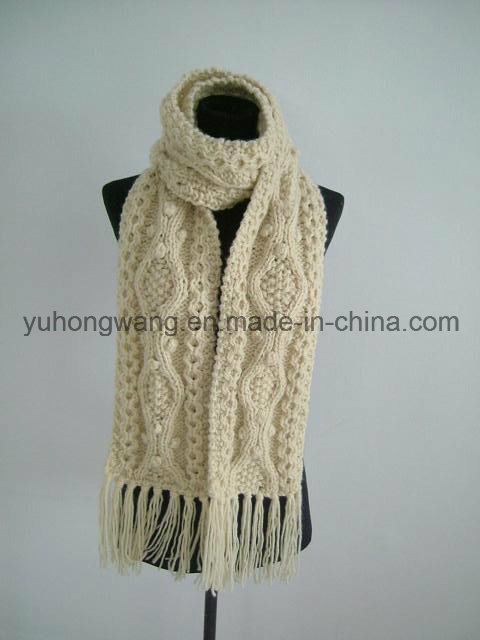 fashion Handmade Acrylic Knitted Crochet Scarves, Scarf