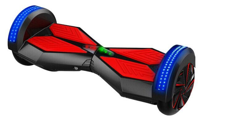 Classical 8 Inch Electric Self Balancing Scooter with Colorful LED Lighter