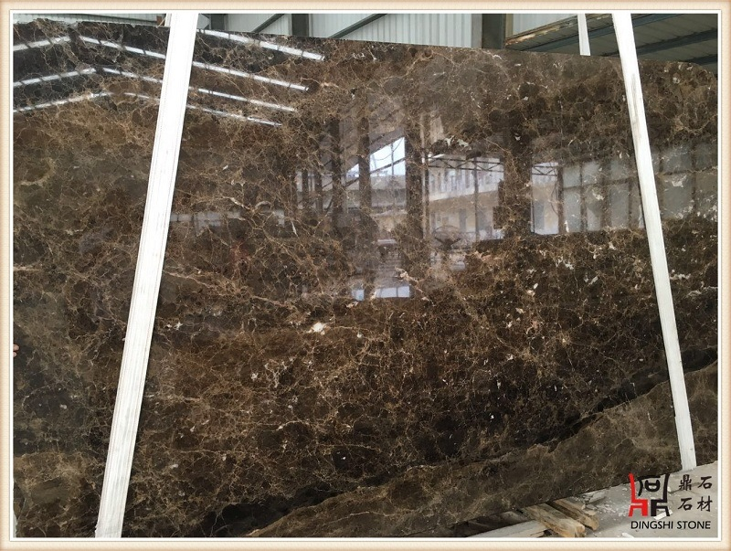 Emperador Dark Marble Slabs Kitchen Countertops for Stone Table Top