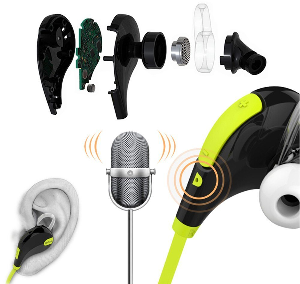 High Quality Qy7 Bluetooth 4.1 Headphone Sport Stereo Music Headsets