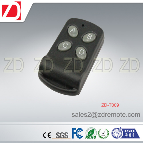 Universal Use Remote Control for Security System of 433/315MHz