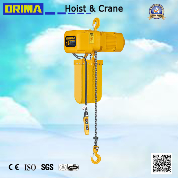 1ton Japan Electric Chain Hoist with Electric Trolley (BMER01-01S)