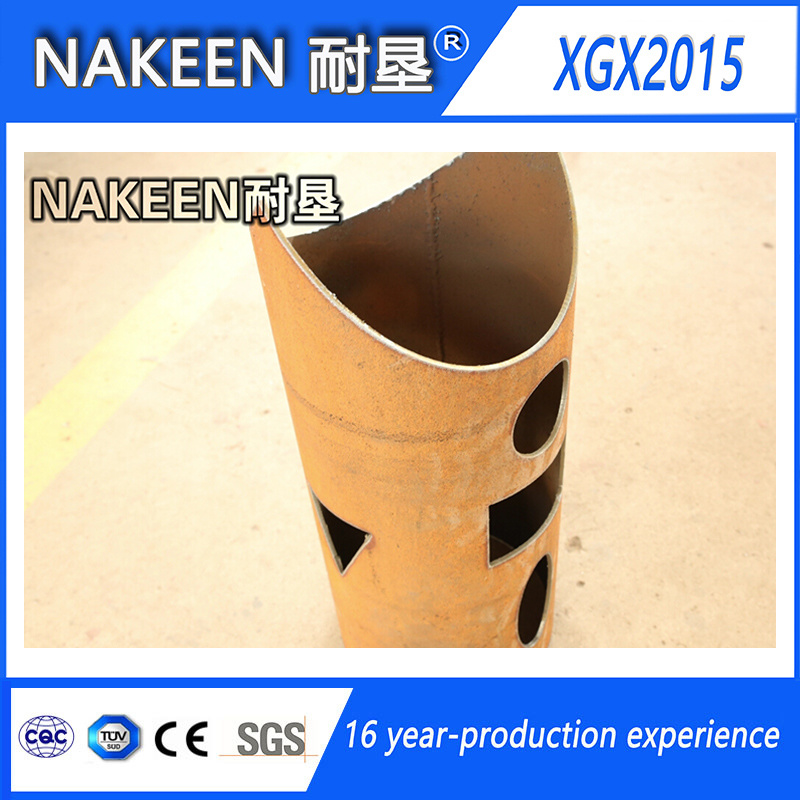 Three Aixs CNC Steel Pipe Cutter for Round Pipes
